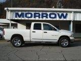 2005 Bright White Dodge Ram 1500 Laramie Quad Cab 4x4 #56188955