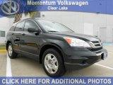 2010 Crystal Black Pearl Honda CR-V LX #56189398
