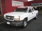 2005 Summit White Chevrolet Silverado 1500 LT Extended Cab 4x4 #56189178