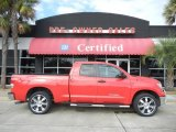 2009 Radiant Red Toyota Tundra Double Cab #56188929
