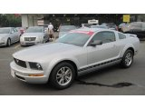 2005 Satin Silver Metallic Ford Mustang V6 Premium Coupe #56189167