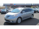 2012 Silver Sky Metallic Toyota Sienna Limited #56189161