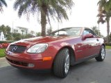 1999 Mercedes-Benz SLK Firemist Red Metallic