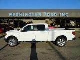 2011 Oxford White Ford F150 Lariat SuperCrew 4x4 #56189134