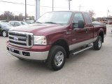 2007 Ford F250 Super Duty Dark Toreador Red Metallic