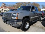 2003 Light Pewter Metallic Chevrolet Silverado 1500 Z71 Extended Cab 4x4 #56189319