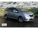 2012 Silver Sky Metallic Toyota Sienna LE #56188848