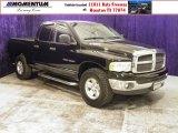 2002 Black Dodge Ram 1500 ST Quad Cab 4x4 #56189106