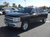 2012 Black Chevrolet Silverado 1500 LT Extended Cab #56189296