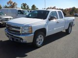 2012 Summit White Chevrolet Silverado 1500 LT Extended Cab 4x4 #56189292
