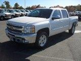 2012 White Diamond Tricoat Chevrolet Silverado 1500 LT Crew Cab 4x4 #56189291