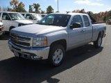 2012 Silver Ice Metallic Chevrolet Silverado 1500 LT Extended Cab 4x4 #56189289