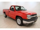 2005 Victory Red Chevrolet Silverado 1500 Regular Cab #56189269