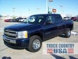2010 Imperial Blue Metallic Chevrolet Silverado 1500 LT Crew Cab 4x4 #56189257