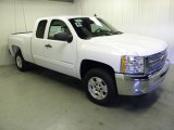 2012 Summit White Chevrolet Silverado 1500 LT Extended Cab #56189244