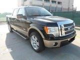 2011 Ebony Black Ford F150 Lariat SuperCrew #56189058