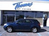 2010 Navy Blue Metallic Chevrolet Equinox LS #56189235