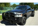 2007 Brilliant Black Crystal Pearl Dodge Ram 3500 ST Quad Cab 4x4 Dually #56189043