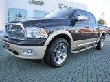 2011 Rugged Brown Pearl Dodge Ram 1500 Laramie Longhorn Crew Cab 4x4 #56189009
