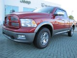 2010 Inferno Red Crystal Pearl Dodge Ram 1500 TRX Quad Cab #56189008