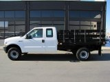 2002 Ford F350 Super Duty XL SuperCab 4x4 Stake Truck Data, Info and Specs
