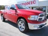 2012 Flame Red Dodge Ram 1500 Big Horn Crew Cab 4x4 #56231125