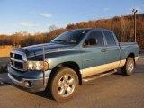 2003 Atlantic Blue Pearl Dodge Ram 1500 SLT Quad Cab 4x4 #56231114