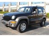 2002 Black Jeep Liberty Sport 4x4 #56231330