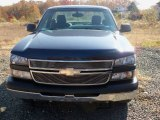 2006 Dark Blue Metallic Chevrolet Silverado 1500 LS Regular Cab #56231066