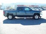 2012 Blue Granite Metallic Chevrolet Silverado 1500 LT Crew Cab 4x4 #56231298