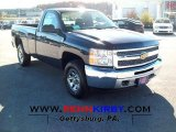 2012 Imperial Blue Metallic Chevrolet Silverado 1500 LS Regular Cab 4x4 #56231295