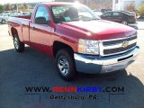 2012 Victory Red Chevrolet Silverado 1500 LS Regular Cab #56231294