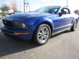 2005 Sonic Blue Metallic Ford Mustang V6 Premium Coupe #56231523