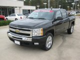 2010 Black Granite Metallic Chevrolet Silverado 1500 LT Crew Cab #56231281
