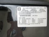2010 Chevrolet Silverado 1500 LT Crew Cab Info Tag