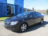 2012 Black Granite Metallic Chevrolet Malibu LT #56231027