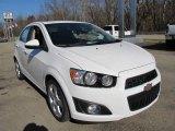 2012 Chevrolet Sonic LTZ Sedan Data, Info and Specs