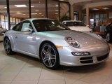 2008 Arctic Silver Metallic Porsche 911 Carrera S Coupe #5596330