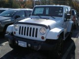 2012 Bright White Jeep Wrangler Sahara 4x4 #56230977