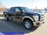 2012 Black Ford F250 Super Duty King Ranch Crew Cab 4x4 #56230962