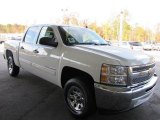 2012 Summit White Chevrolet Silverado 1500 LS Crew Cab #56231200