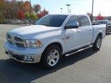 2012 Bright White Dodge Ram 1500 Laramie Longhorn Crew Cab 4x4 #56231445