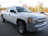 2012 Summit White Chevrolet Silverado 1500 LS Extended Cab #56231198