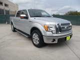 2010 Ingot Silver Metallic Ford F150 Lariat SuperCrew #56231172