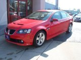 2009 Liquid Red Pontiac G8 GT #5612605
