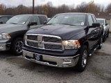2012 True Blue Pearl Dodge Ram 1500 Big Horn Quad Cab 4x4 #56231395