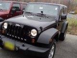 2012 Black Jeep Wrangler Sport S 4x4 #56231393