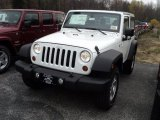 2012 Bright White Jeep Wrangler Sport S 4x4 #56231377
