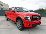 2011 Race Red Ford F150 FX4 SuperCrew 4x4 #56231152
