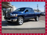 2006 Patriot Blue Pearl Dodge Ram 1500 SLT Quad Cab 4x4 #56231141